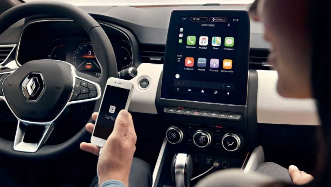 Renault Apple Carplay